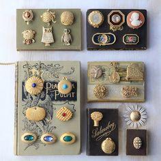 アンティーク練り香水のコレクション Jewelry Packaging, Costume Jewelry, Packaging Design, Antique Jewelry, Jewelry Accessories, Perfume, Diy Crafts, My Favorite Things, Antiques