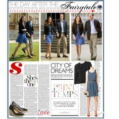 """""""The Duchess of Cambridge - The Day After Honeymoon Zara Dress"""" by perth-fashion-stylist on Polyvore"""