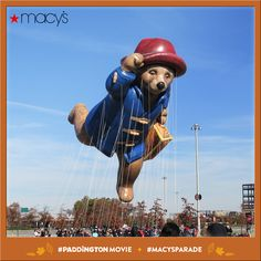 Find out how Paddington and Macy's can help you get to the 2015 #Macy's Parade in NYC! http://mcys.co/1xHPNuP