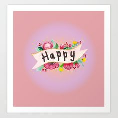 25% Off Everything Today With Code: APRIL25 Society6→http://bit.ly/sohapp  #society6 #sales #offers #discount #promo #mixmedia #flowerbanner #handdrawn #love #happy #pink #treding