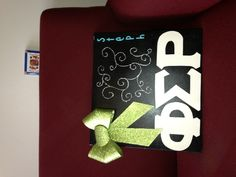 Phi sigma Rho scrapbook for my little