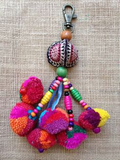 *Kutchi Koo Tribe - We are a community with a passion for Tribal beauty.    This is for all 4 charms, each charm is handmade and put together with