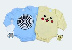 Pokemon Baby Clothes with Pikachu and by RollieePollieeStudio