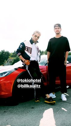 Bill and Tom on Instagram