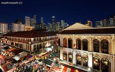 Visit Chinatown in Singapore
