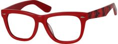 Image result for images of red acetate eyeglasses