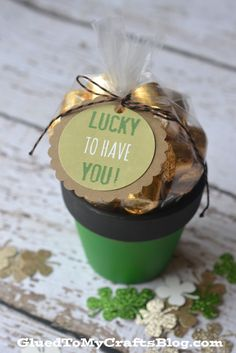 Free Lucky Gift Tag Printable