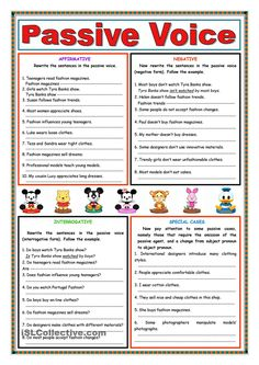 A diagnostic test for students. There are three sections: grammar, reading and writing. The grammar section has got thirty activities related with verbal tenses, passive voice, conditional sentences and so on. Teaching English Grammar, English Grammar Worksheets, English Verbs, English Vocabulary, Active And Passive Voice, Active Voice, Grammar Practice, Grammar Lessons, Grammar Games