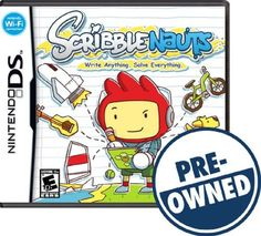 Scribblenauts - PRE-Owned - Nintendo DS