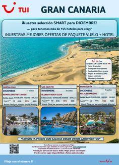 Nueva #ofertas #smart para el mes de #diciembre con destino a #Canarias