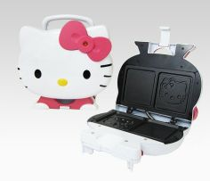 Hello Kitty Sandwich Maker - yum!