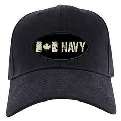 e45d24f299627 Canadian Flag  Navy Baseball Hat on CafePress.com British Royal Marines