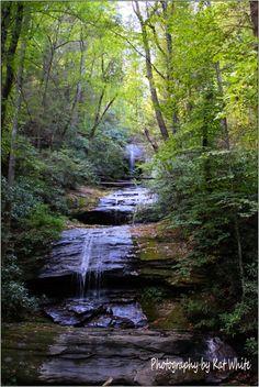 DeSoto Falls in Blairsville, GA