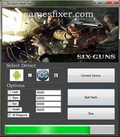 Download Six Guns Hack and Cheats Tool http://gamesfixer.com/six-guns-hack/