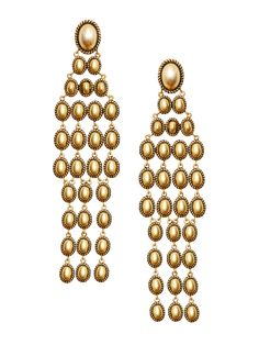 Rachel Zoe Alma Glam Chandelier Earrings