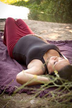 Katherine Azanza Photography ・ Sonoma County Maternity Session ・ Tattoos ・ River