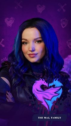 From Descendants Insta Dove Cameron Descendants, Disney Descendants Dolls, Descendants Characters, Evie Descendants, Descendants Pictures, Disney Memes, Disney Cartoons, Mal And Evie, Disney Decendants