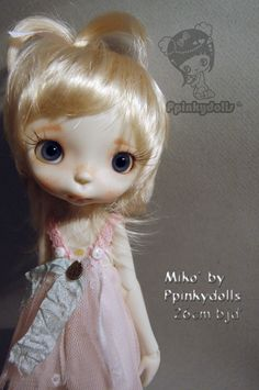 Miko' collectible BJD' resin doll by Chrishanthi ''Ppinkydolls'' by ppinkydollsart on Etsy https://www.etsy.com/listing/235920869/miko-collectible-bjd-resin-doll-by
