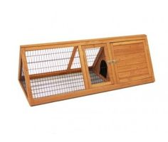 The Summerhouse Flatpack Large Guinea Pig / Rabbit Hutch and Run 153cm Wide X 61cm Deep £82.99