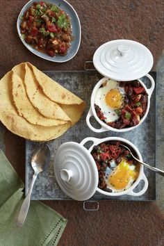 huevos rancheros, Fathers day bfast for Johnny