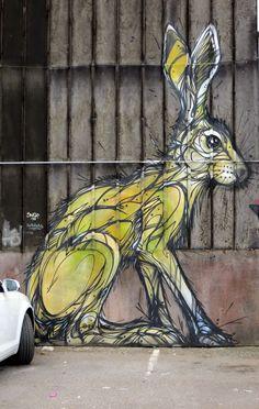 DZIA Street art.: Antwerpen - Belgium