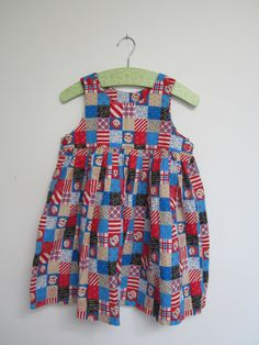 Vintage Raggedy Ann and Andy Dress by MaxxSillyVintage on Etsy, $12.00