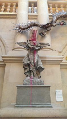Banksy   #art #streetart #street #banksy #artists #artgallery #pink #bristol