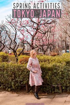 Cool things to do in Tokyo in Spring | Hanami cherry blossom viewing in Tokyo | Aoyama Flower Market Teahouse | Spring Festivals in Tokyo | Plum blossom viewing