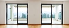 My wife and I are looking to get new doors for our downstairs. We just have normal doors now, but I want to get the sliding doors like the doors in this picture. I think that it would be a lot easier to open and close. We will also be able to leave it open in the summer.