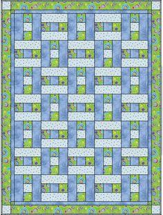 3 fabric quilt