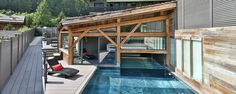 Hôtel Chamonix, Le Montana 4*,Chamonix Argentiere,piscine_pano