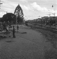 Rua da Liberdade, atual Avenida Liberdade Ano: 1945 Autor: desconhecido