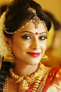 [Click on the photo to book your wedding photographer] South Indian Brides Tamil Brides