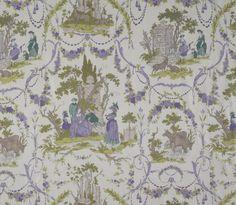 Le Jardin Anglais-Violet : Marvic Textiles