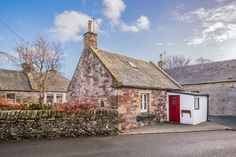A romantic, village cottage in the wild Scottish Borders, perfect for soulmates, sweethearts and runaway lovers…