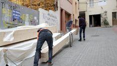 BICICLO PARA ENTRAR LAS VIGAS LAMINADAS DEL TEJADO Company Logo, Walk In