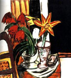 Max Beckmann  Tulip and Daisy