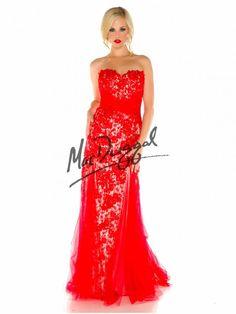 Red Prom Dress | Plus Size Mermaid Dress | Mac Duggal 76778F