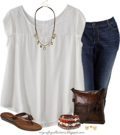 Women's #Plussize Outfit: Charmed. Featuring items from Target, Maurices, Old Navy, Boscov's and Amazon.