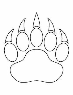 Use the printable outline for crafts, creating stencils,. Use the printable outline for crafts, creating stencils,… – – - Native Beadwork, Native American Beadwork, Native Beading Patterns, Indian Beadwork, Applique Patterns, Quilt Patterns, Stencil Patterns, Bead Patterns, Bear Paw Print