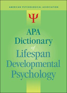 Buy APA Dictionary of Lifespan Developmental Psychology at Mighty Ape NZ. This well-focused abridgment of the critically acclaimed APA Dictionary of Psychology is specifically tailored for scholars and students who focus on . Language Development, Child Development, Psychology Dictionary, Infant Lesson Plans, American Psychological Association, Daycare Forms, Third Grade Science, Physics Classroom, Forensic Anthropology