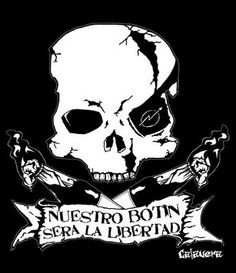 Calavera   CALAVERA   Guerrilla Gráfica: calavera okupa Punk Rock, Sistema Solar, Flag, Darth Vader, Culture, Entertaining, Humor, Norman, Revolution