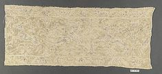 Border Date: 16th century Culture: Italian (Sicily) Medium: Embroidered net Accession Number: 08.180.664