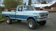 1970 ford truck | 1970 Ford F100 F-100 Diesel 4x4 Long Bed 4spd Lifted 35s on 2040cars