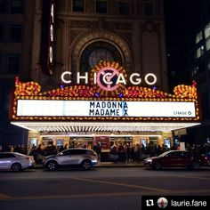 #Repost @laurie.fane: Spent last night in the presence of an icon! Head over the @rebelliousmagazine to read my review of Madonna's Oct. 16 show at the Chicago Theatre (link in bio) P.S. I'm sleepy #madonna #madamex #chicago #chigram #chicagotheatre #rebelliousmagazine #livemusicphotogrphy #musicphotography #concertphotography Madonna, Concert Photography, Theatre, Chicago, Night, Link, Theater