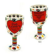 Dog Lovers Goblet - Our Name is Mud  $20.00  www.cutebooze.com