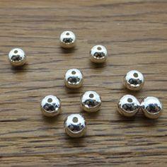925 Sterling Silver Charm Beads DIY Findings LFJ52