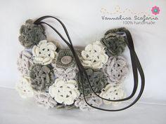 This crocheted purse is so cute.