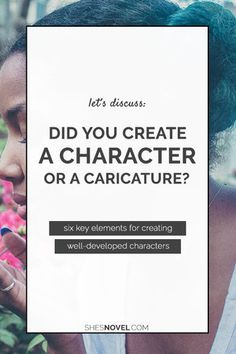Have you Created Characters or Caricatures?