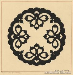 Hungarian Embroidery Pattern #3: Hearts for Whitework
